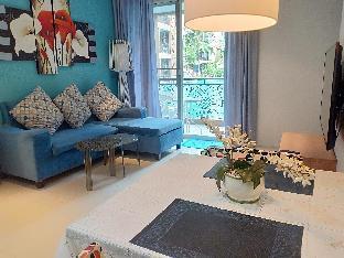 1 bedroom pool access corner fully furniture. อพาร์ตเมนต์ 1 ห้องนอน 1 ห้องน้ำส่วนตัว ขนาด 46 ตร.ม. – หาดจอมเทียน