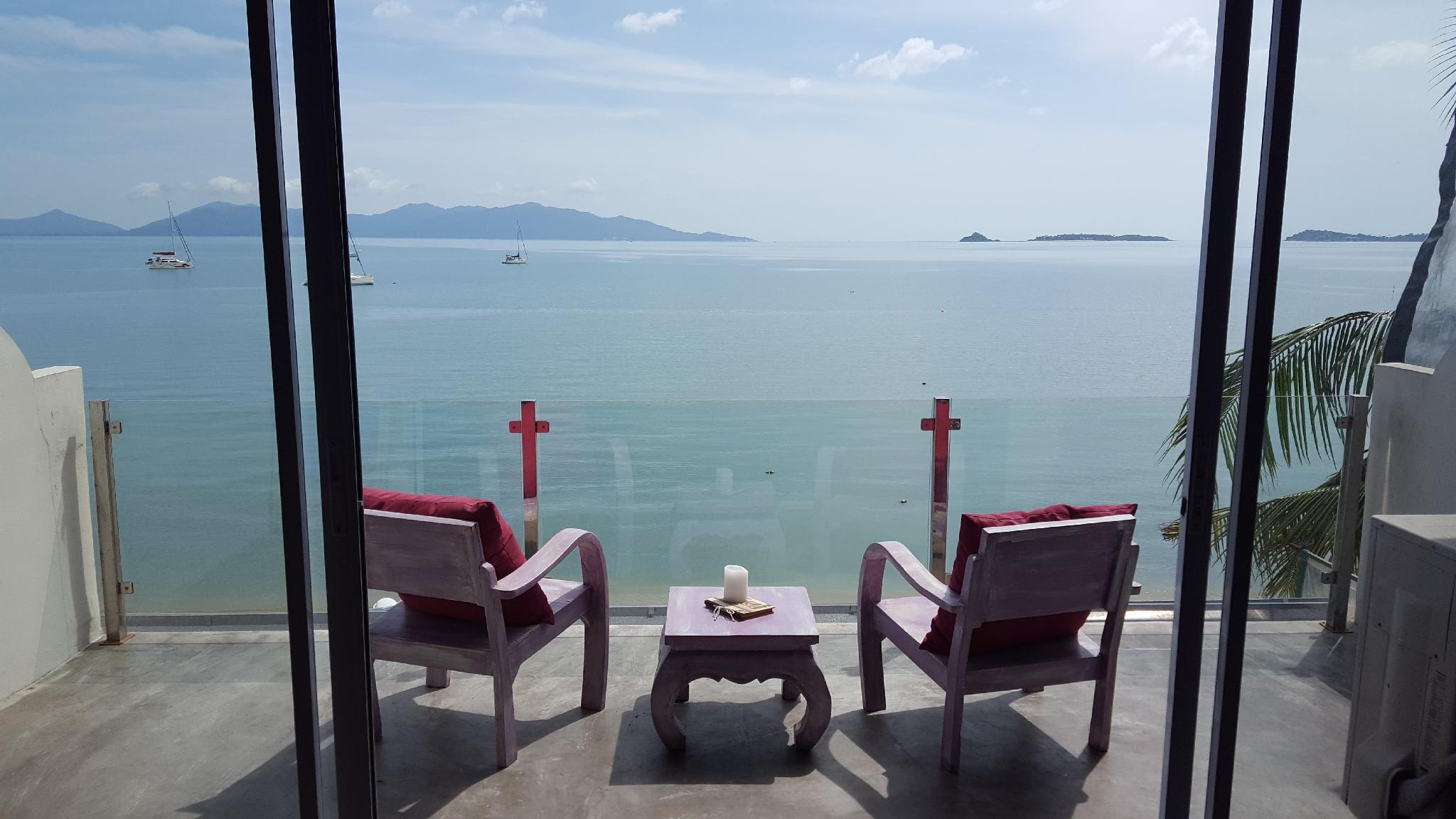 2 Bed Apt Chaweng - walk to beach อพาร์ตเมนต์ 1 ห้องนอน 1 ห้องน้ำส่วนตัว ขนาด 65 ตร.ม. – หาดบ่อผุด