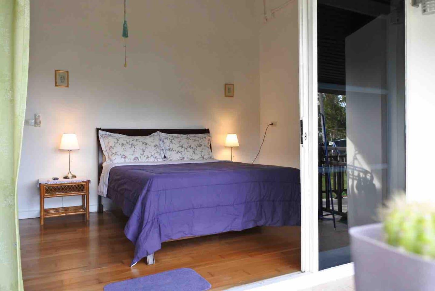 Balcony Room W View In Ko Samui @ Aunbnb Homestay