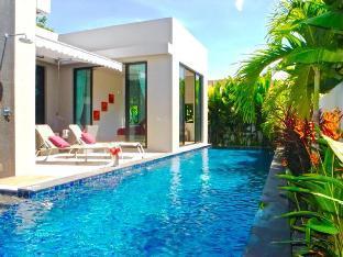 Modern & Zen Pool Villa in Nai Harn วิลลา 3 ห้องนอน 3 ห้องน้ำส่วนตัว ขนาด 246 ตร.ม. – ในหาน