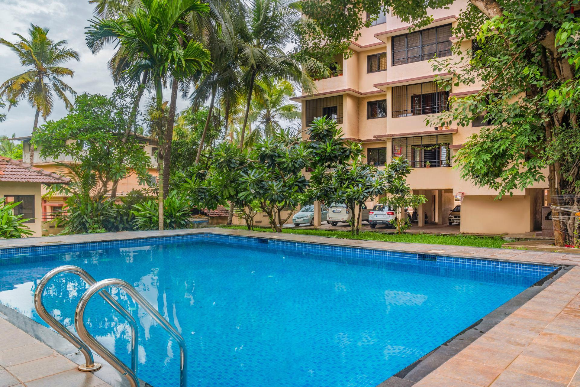 Lavish 3 Bedroom Penthouse Near Anjuna Beach 73810