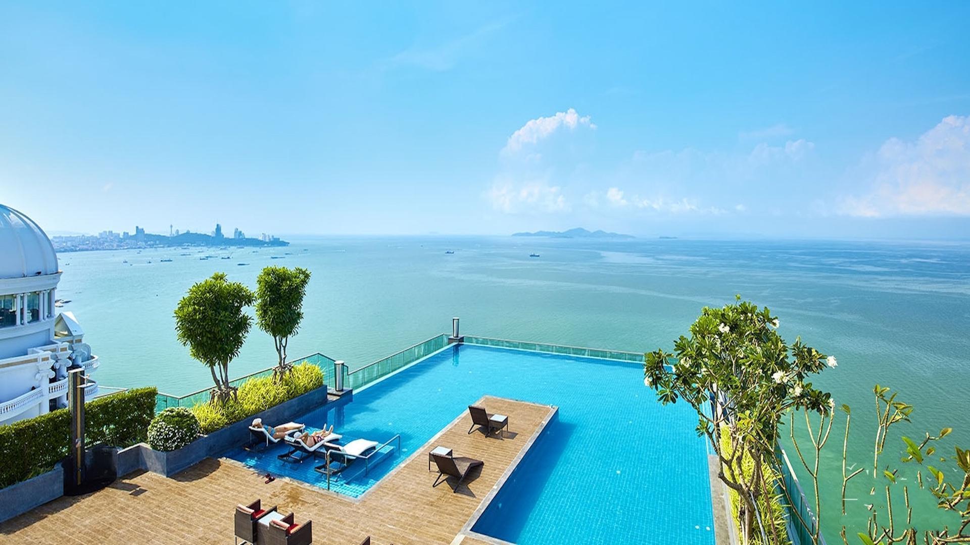 Wong Amat Tower Luxury Beachfront Duplex Apt อพาร์ตเมนต์ 1 ห้องนอน 2 ห้องน้ำส่วนตัว ขนาด 65 ตร.ม. – นาเกลือ/บางละมุง