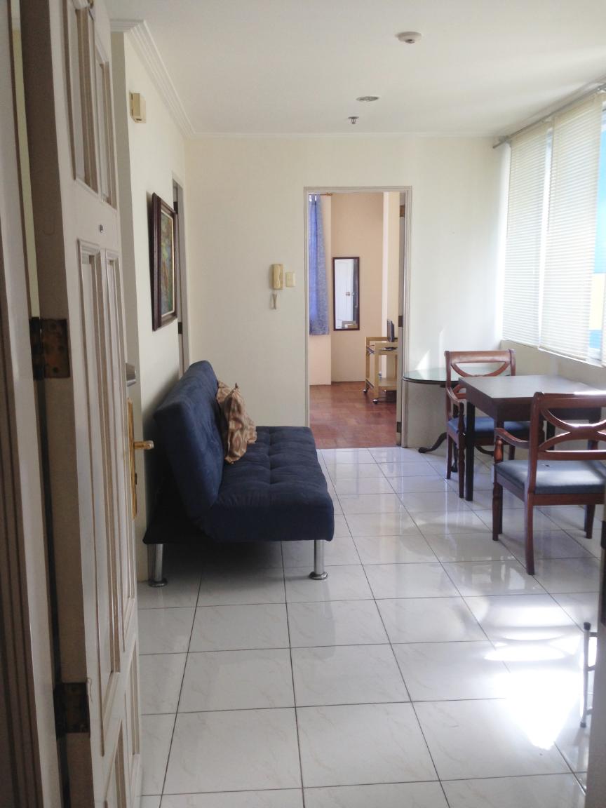 1 Bedroom Apt, right infront of Ateneo, Miriam, UP