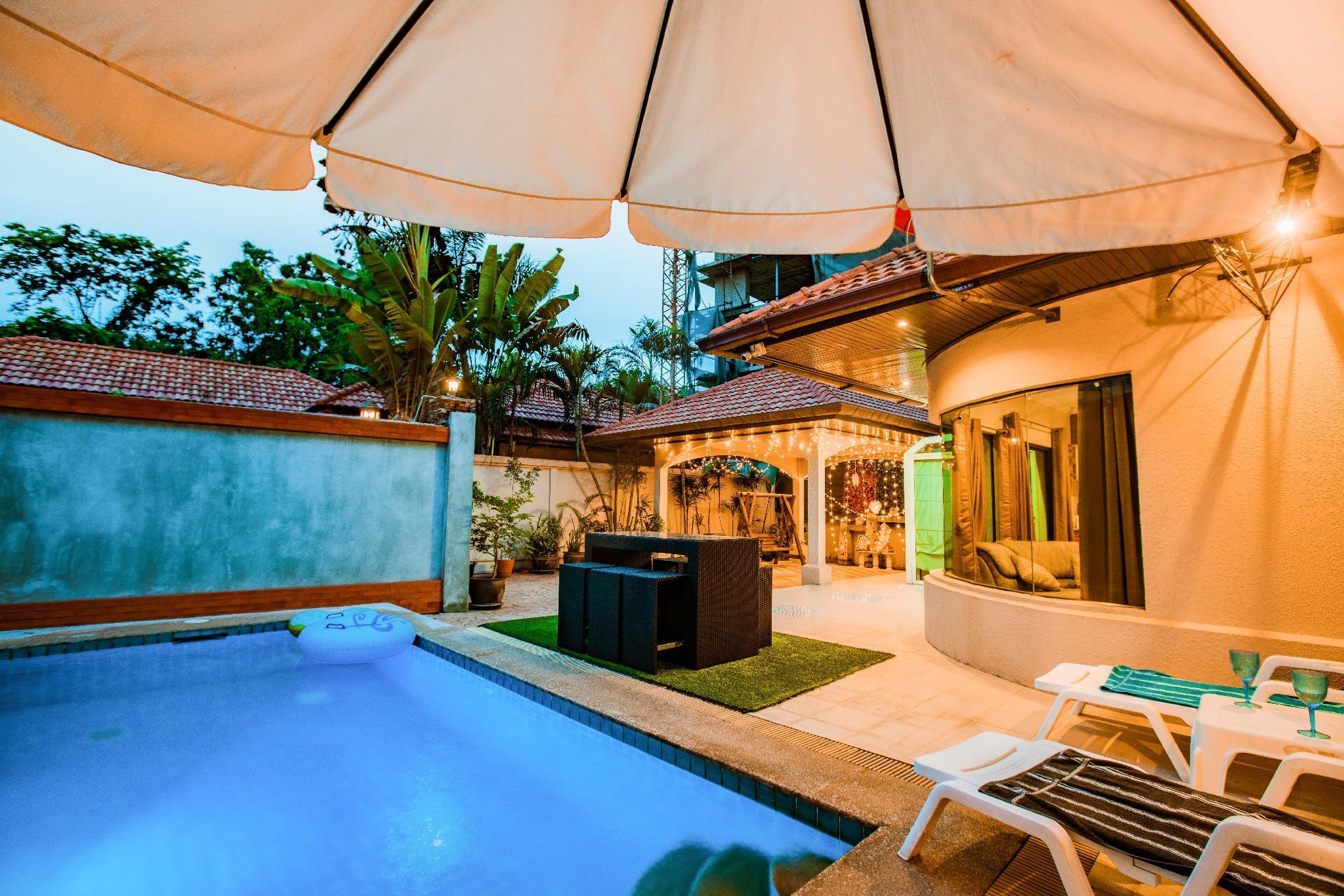 Pattaya 3 Bedroom Pool Villa Walking Street 44