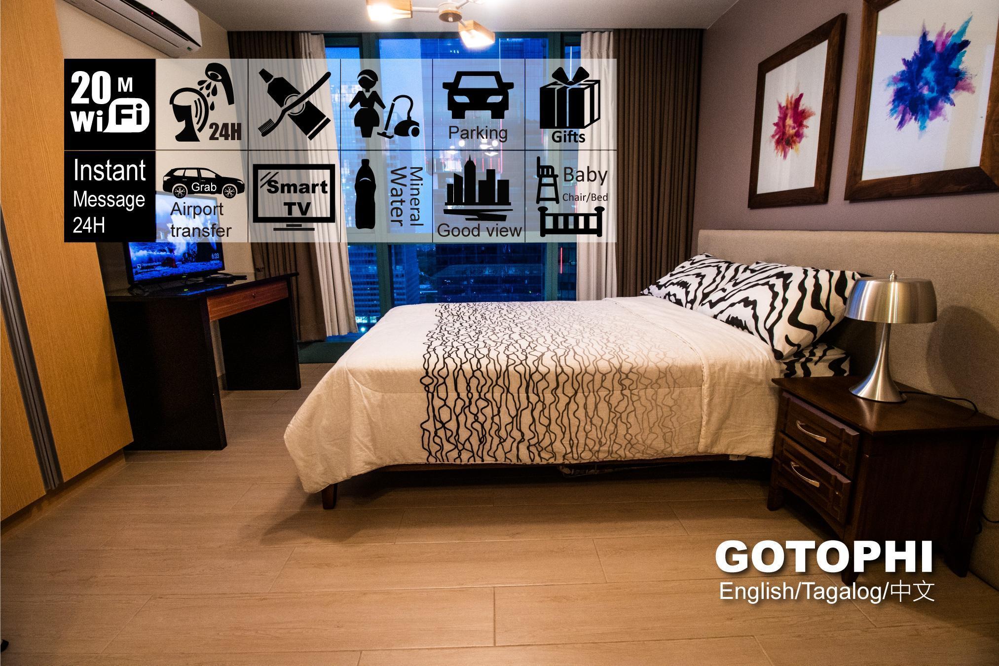 One Uptown Residence BGC Gotophi 5Star Hotel 18K