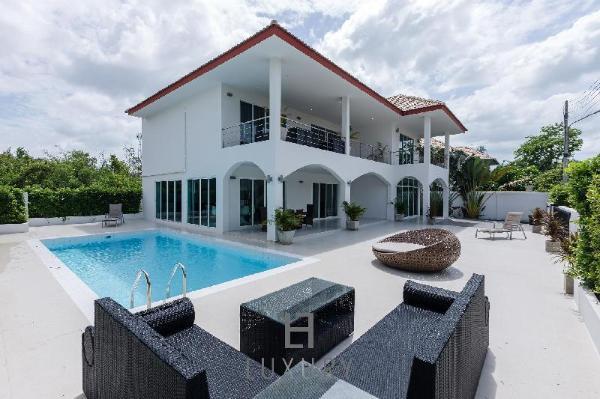 Modern 4 Bedroom Pool Villa In Good Location - VY Hua Hin