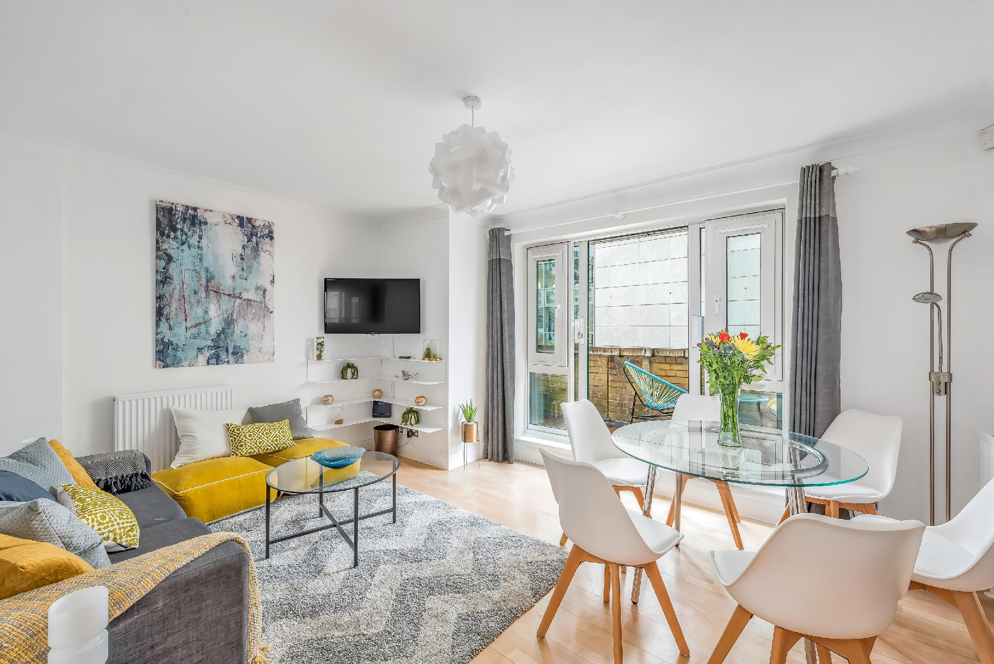 Apartment with London Eye Views, 2Bed 2Bath