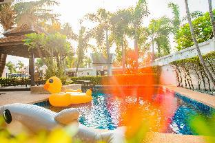 Jomtien Beach Deluxe Five-Bedroom Pool Villa วิลลา 5 ห้องนอน 4 ห้องน้ำส่วนตัว ขนาด 400 ตร.ม. – พัทยาใต้