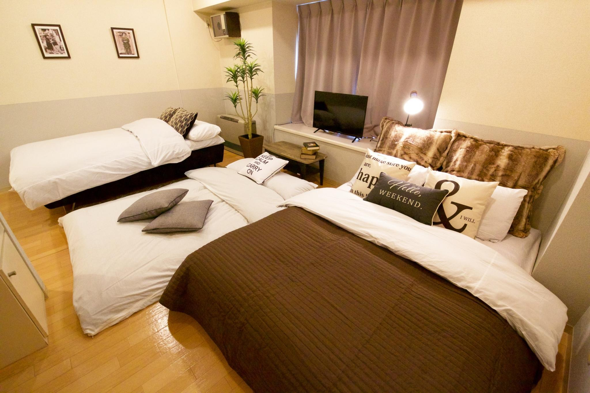 B2 Apartment In Sapporo 10 Minutes To The Station