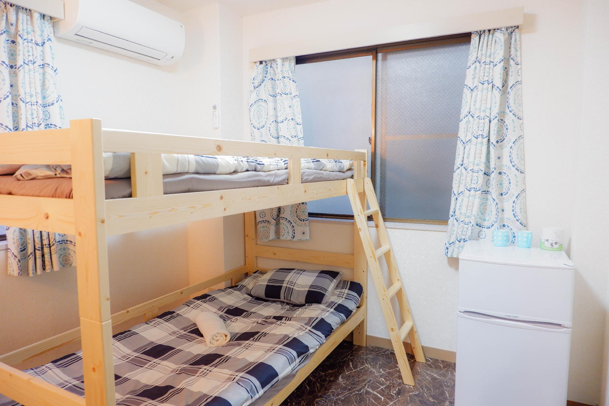 KAIKEAsakusa Bunkbeds Fit For Backpackers Couples3