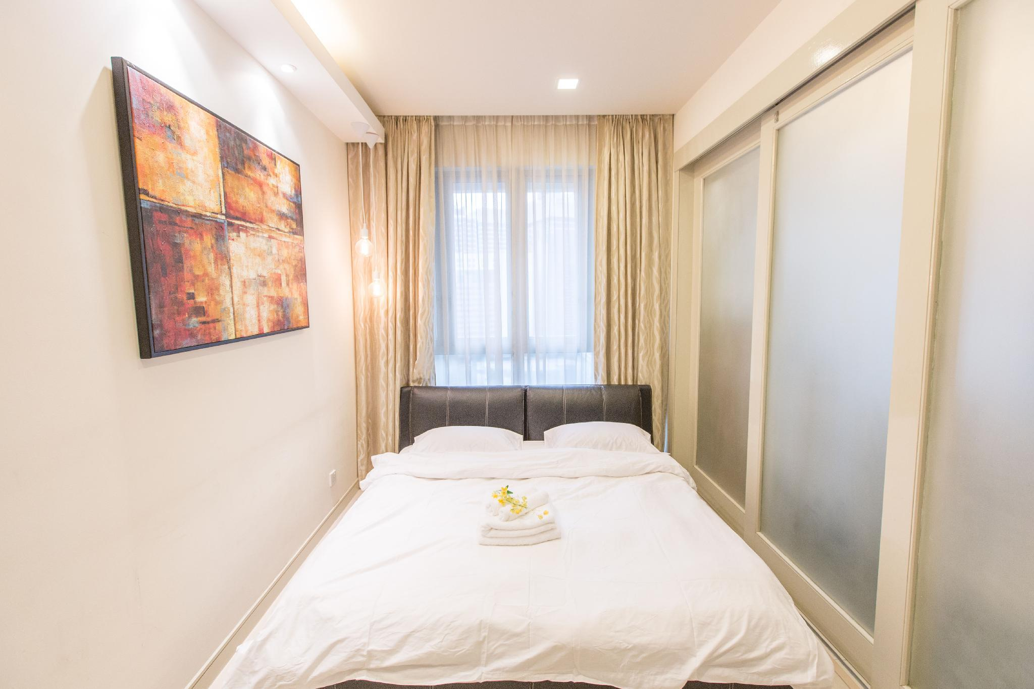 Bright 1BR Suite Next To KL Park With Pool&Gym A18