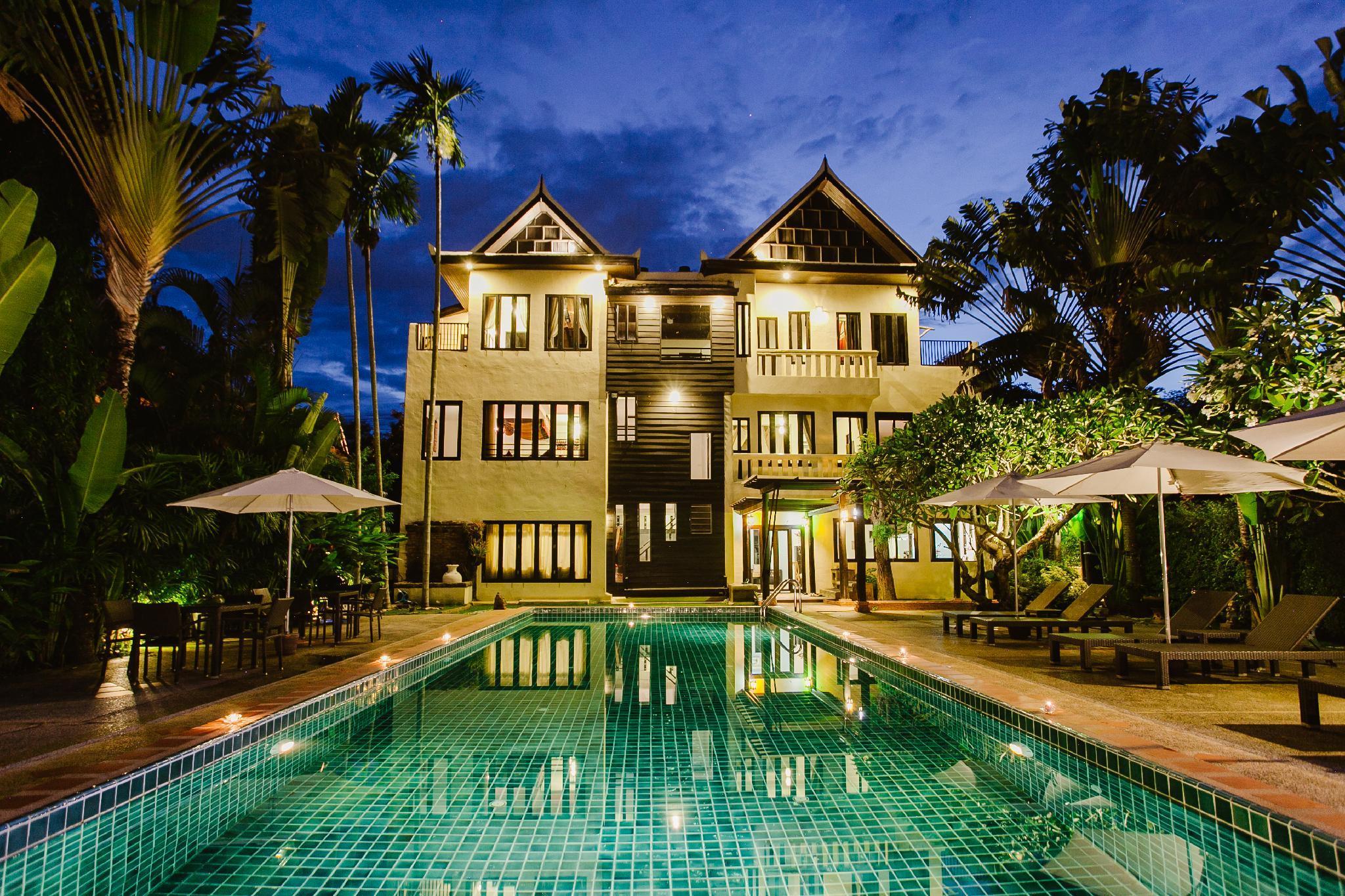 Initial Dawn Riverside Villa