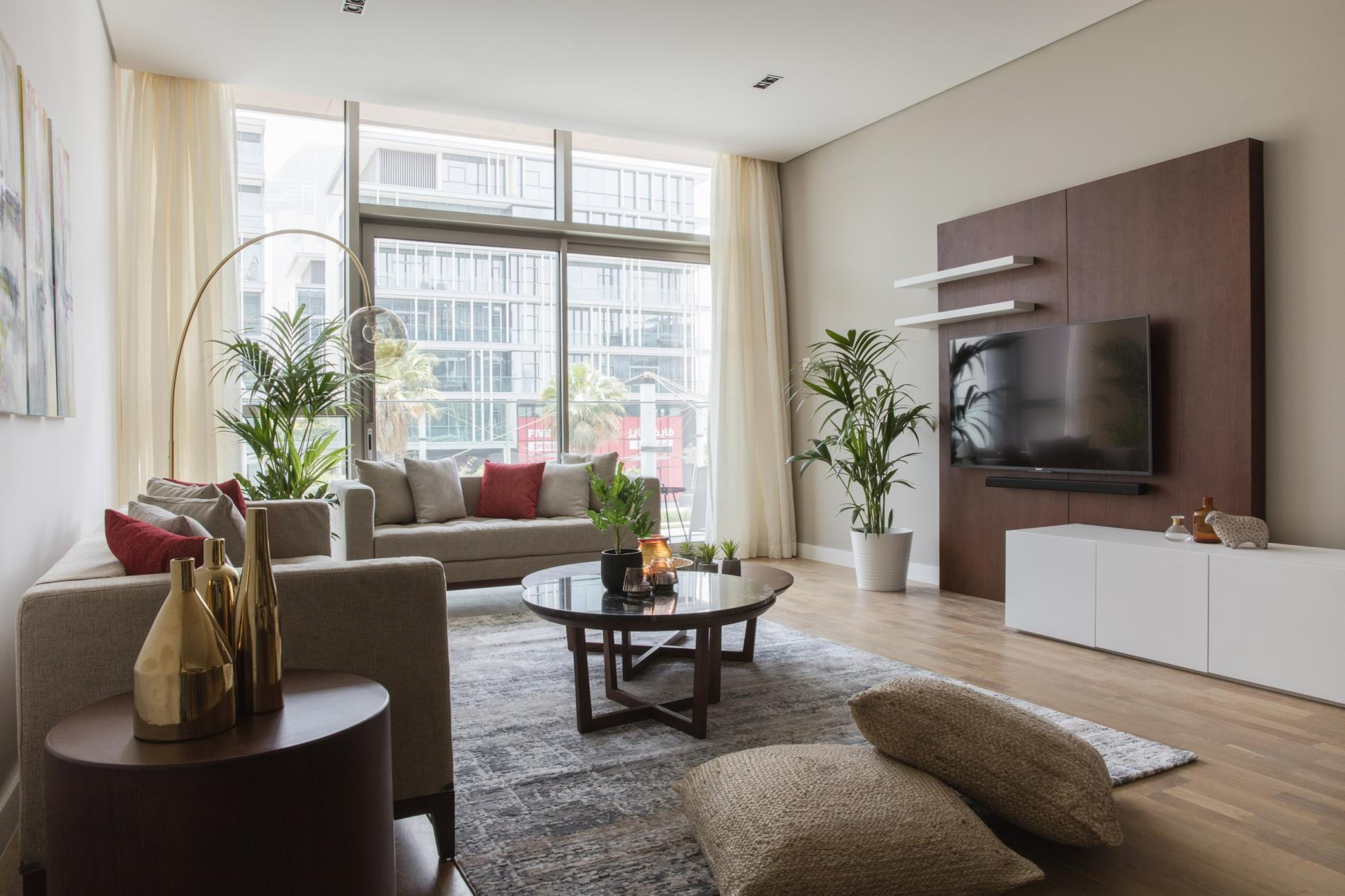 Sophisticated Stylish One Bedroom In City Walk