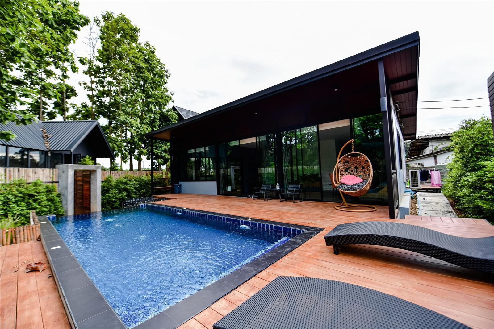 Hot spring Gardenscape pool villa / 2BR วิลลา 2 ห้องนอน 3 ห้องน้ำส่วนตัว ขนาด 288 ตร.ม. – ดอยสะเก็ด