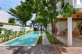 [プランブリー]ヴィラ(600m2)| 4ベッドルーム/4バスルーム Pranaluxe Beach View Pool Villa