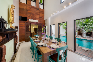 Thai style Villa With Private Pool วิลลา 4 ห้องนอน 5 ห้องน้ำส่วนตัว ขนาด 500 ตร.ม. – บางนา