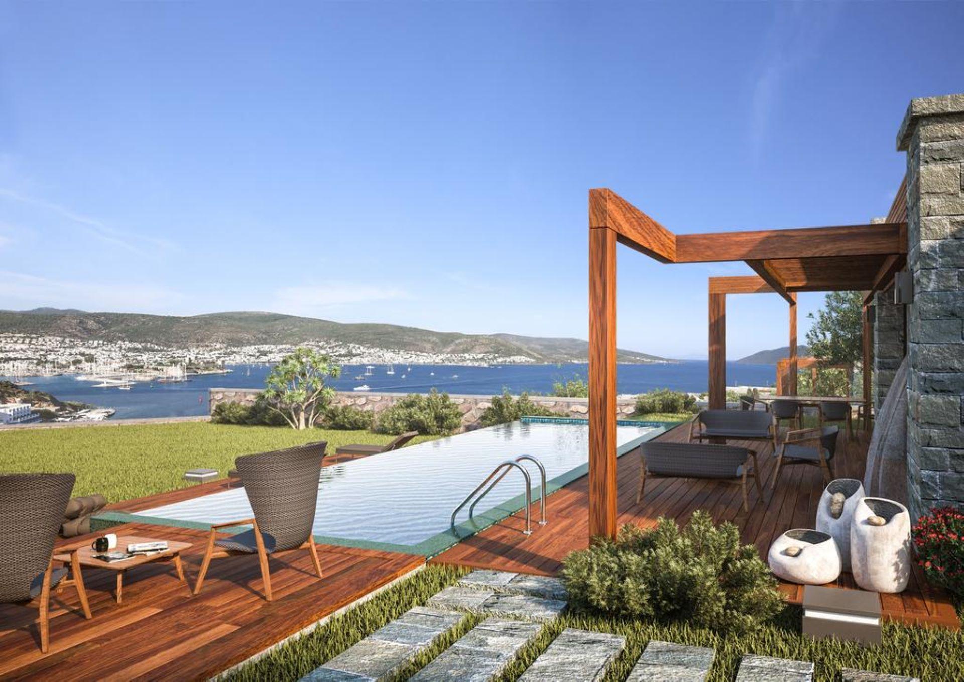 Bodrum Bardakci Luxury Villa 4Bdr +Butler