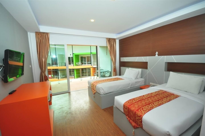 Modern Room Twin beds on Phi Phi สตูดิโอ อพาร์ตเมนต์ 1 ห้องน้ำส่วนตัว ขนาด 45 ตร.ม. – อ่าวต้นไทร