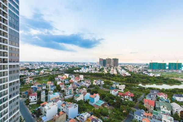 The Sun-avenue Luxury District 2. Tower 4 river. Ho Chi Minh City