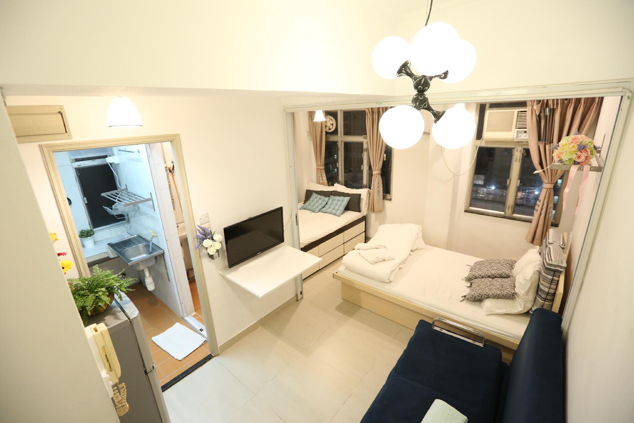 T10  Cozy Apartment + Open Area With Kitchen