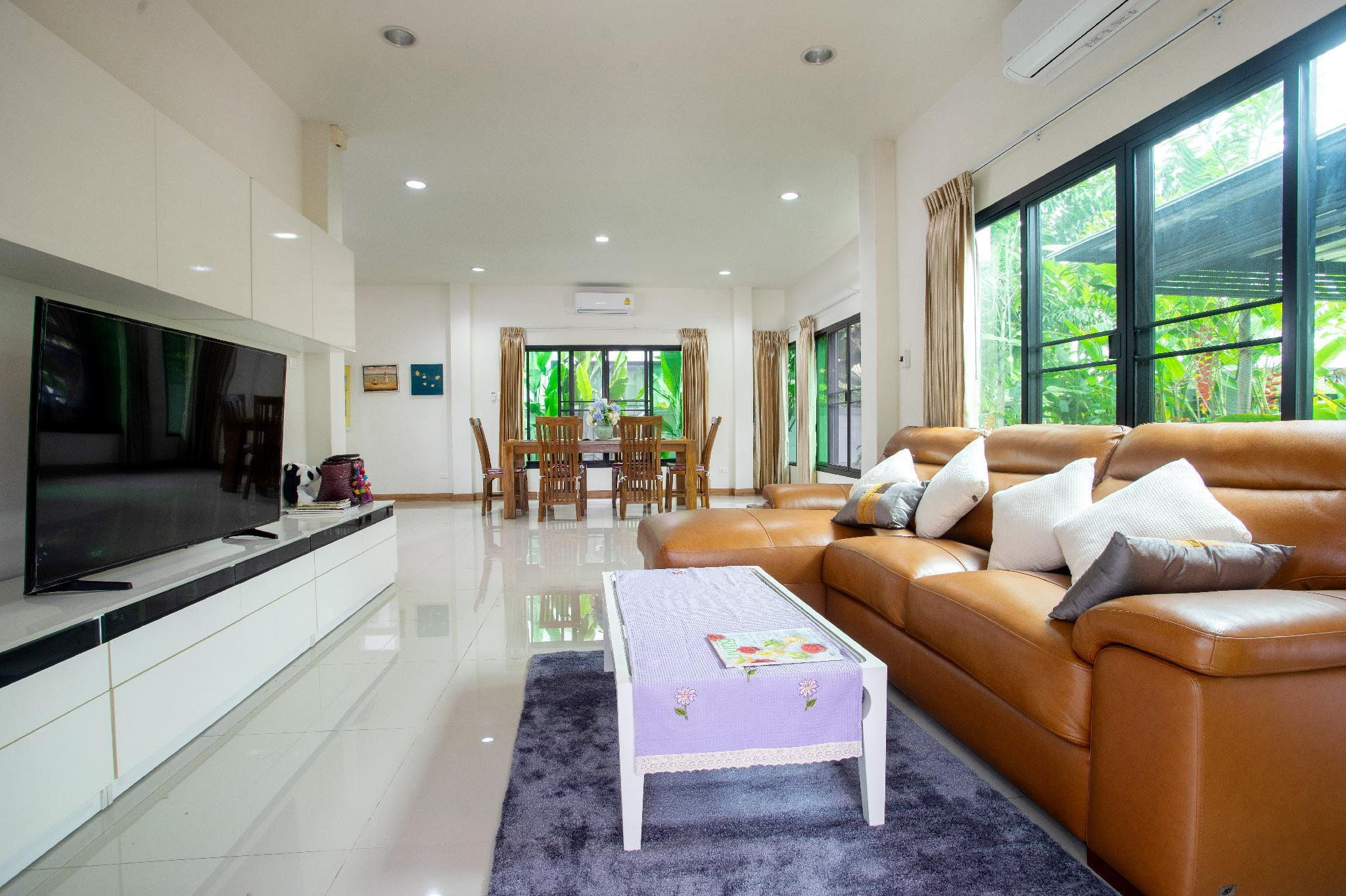 New Private Luxurious Villa near Kad Farang บ้านเดี่ยว 3 ห้องนอน 4 ห้องน้ำส่วนตัว ขนาด 280 ตร.ม. – หางดง