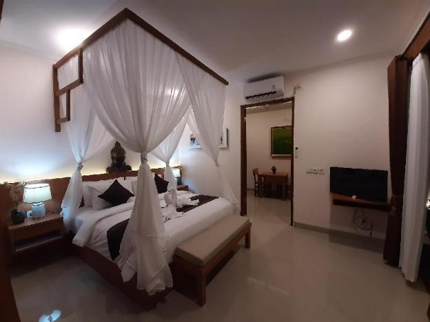 one bedroom villa in the rice field area
