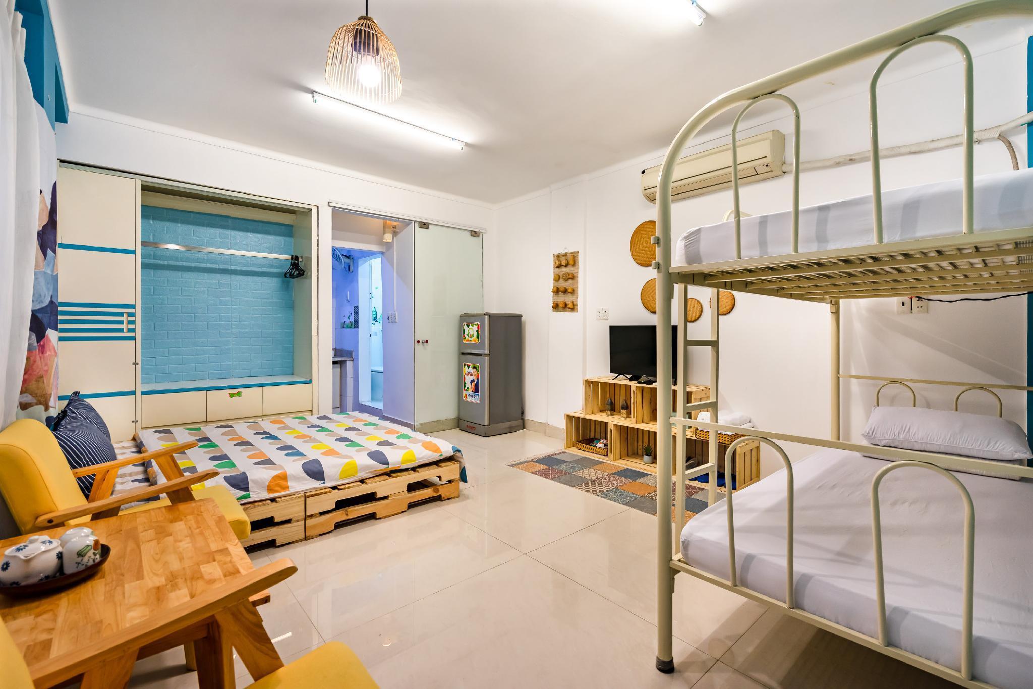 Apartment Max12people CentralDist1 BenThanh Market