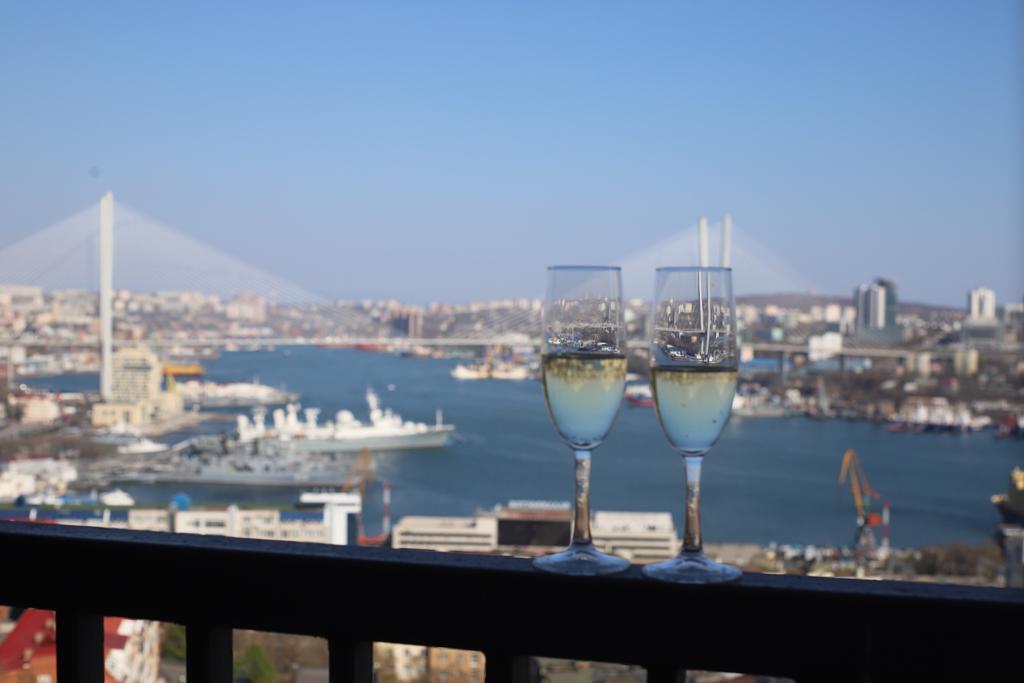 Central Apartments Vladivostok Room Whit Balcony