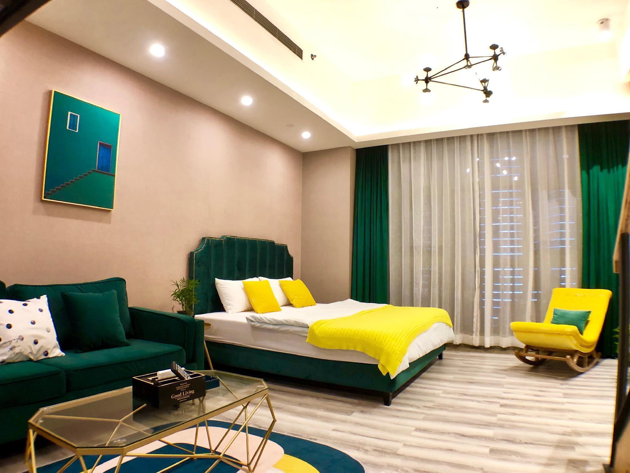 Dark Green Loft 4people Apartment