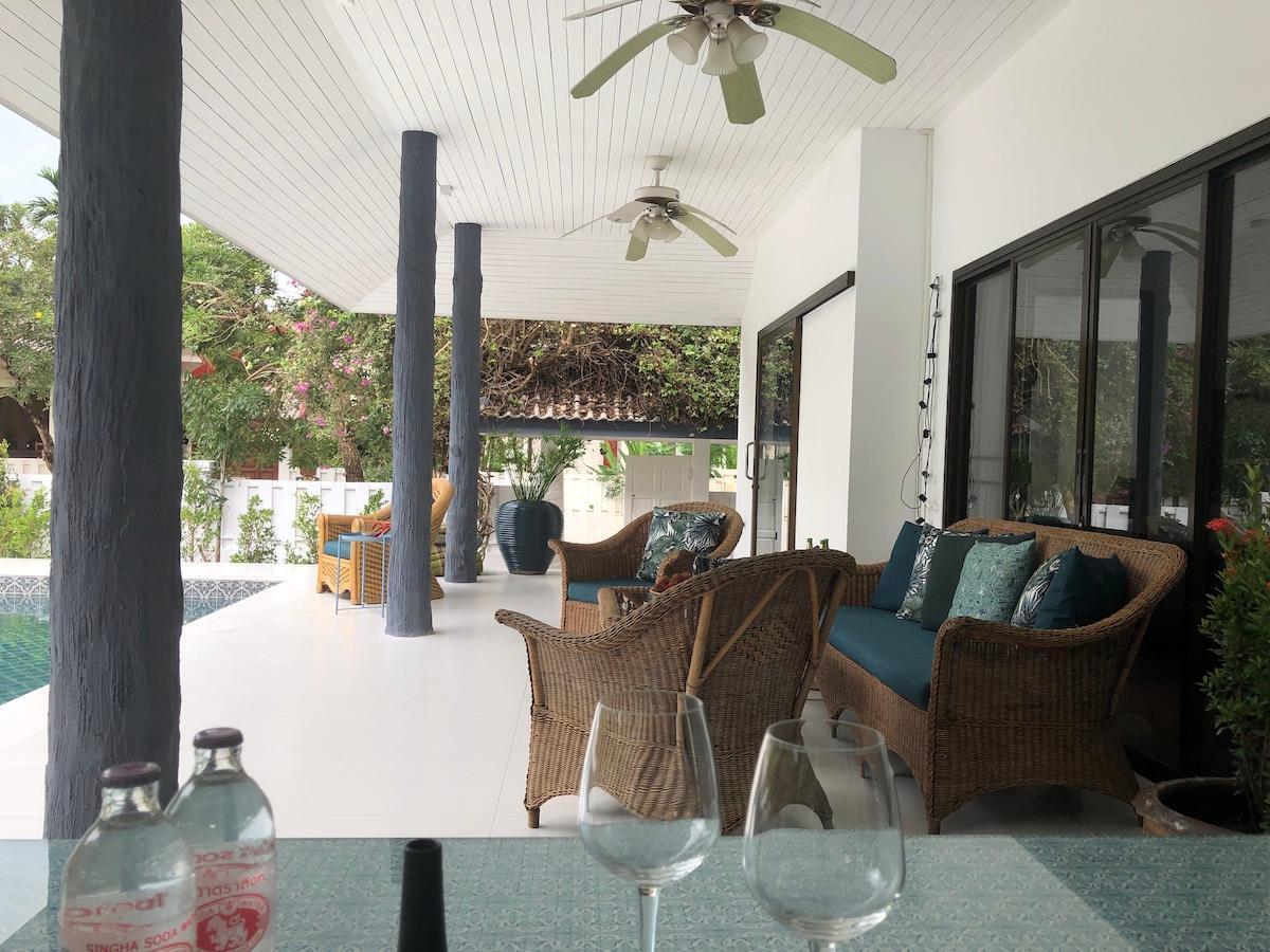 Southern Residence Pool Villa C3 วิลลา 4 ห้องนอน 2 ห้องน้ำส่วนตัว ขนาด 130 ตร.ม. – หาดคลองดาว/หาดพระแอ