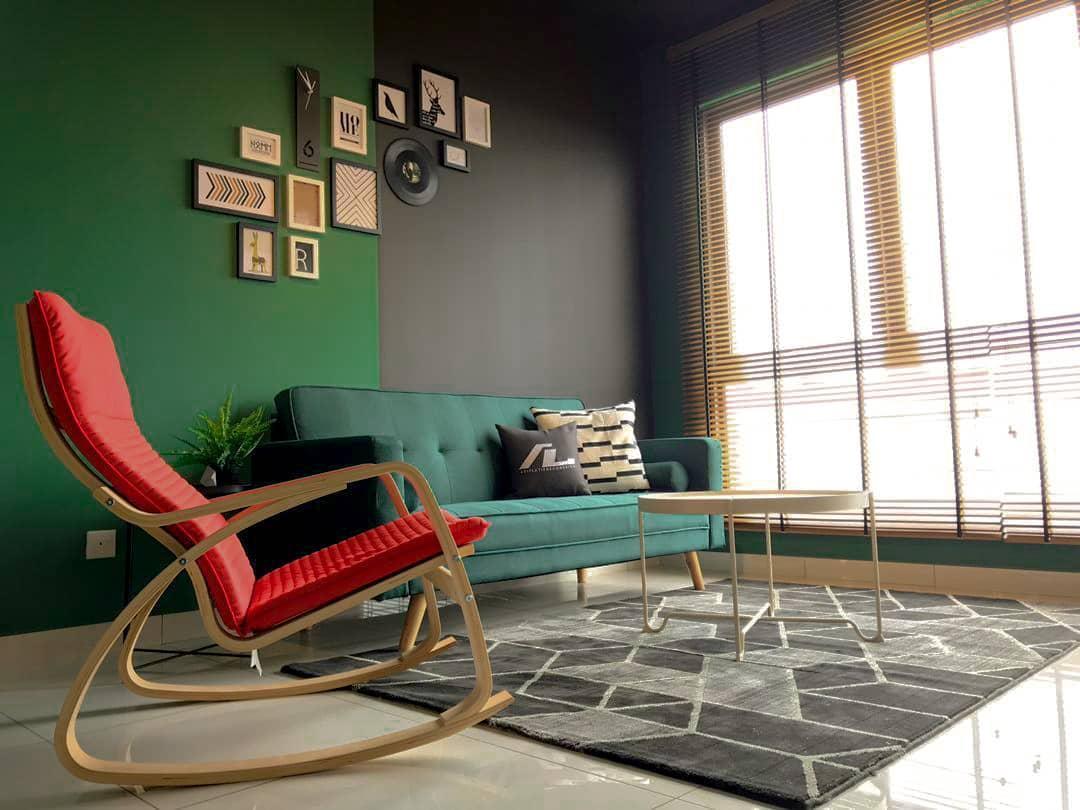 Black Sfera Guesthouse With Minimalist And Stylish.