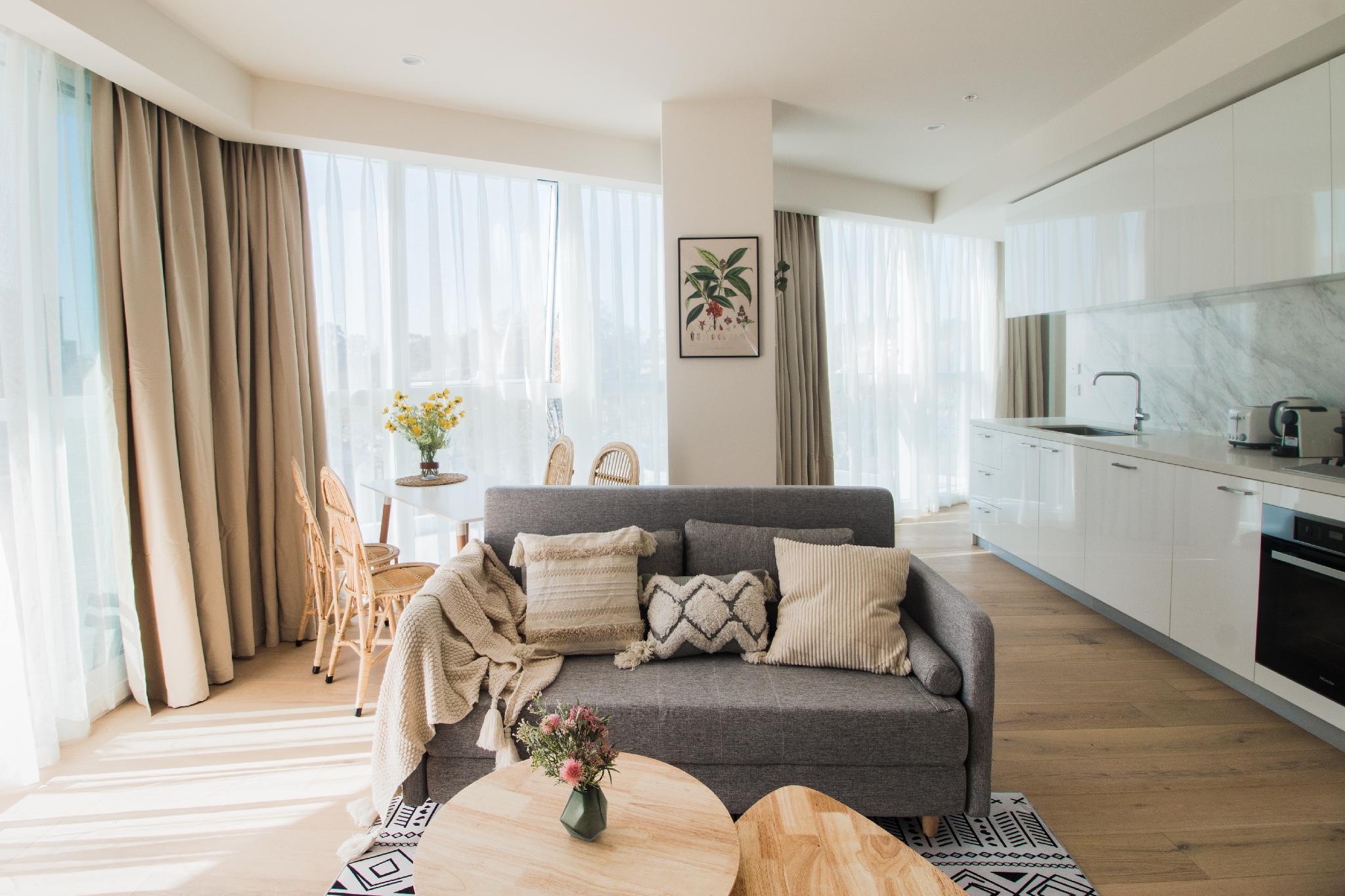 4 North Melbourne Comfortable 2bedroom Apartment