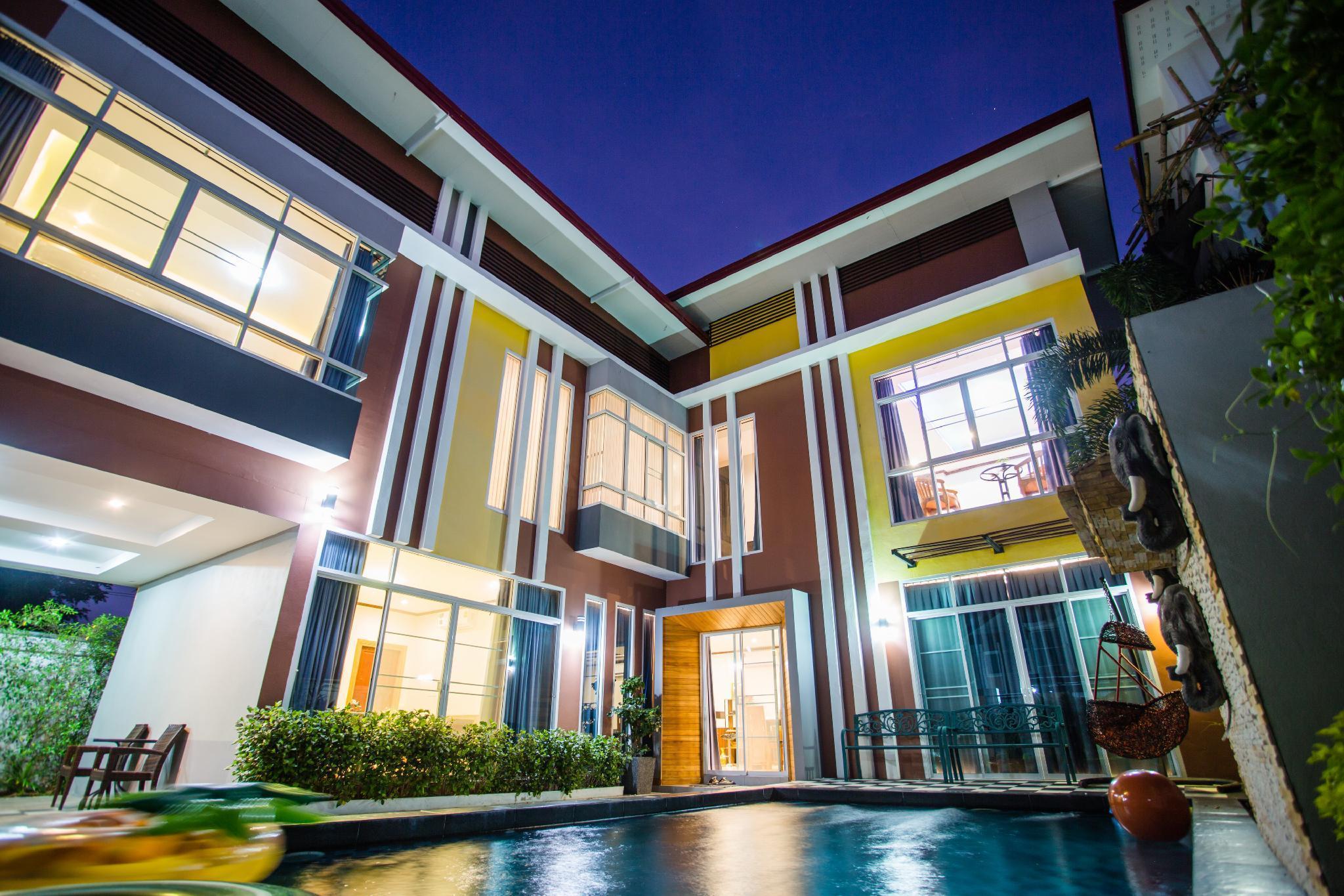 Chiang Mai 4 Bedroom Pool Villa วิลลา 4 ห้องนอน 5 ห้องน้ำส่วนตัว ขนาด 600 ตร.ม. – สันทราย