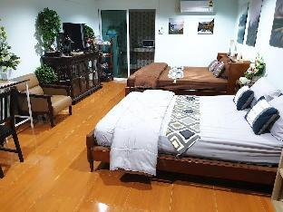 Family room 2 Beds, 10 mins to Don Mueang Airport อพาร์ตเมนต์ 1 ห้องนอน 1 ห้องน้ำส่วนตัว ขนาด 30 ตร.ม. – สนามบินนานาชาติดอนเมือง