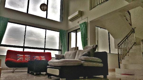 Duplex Penthouse KL Near lrt (Amazing View) Kuala Lumpur