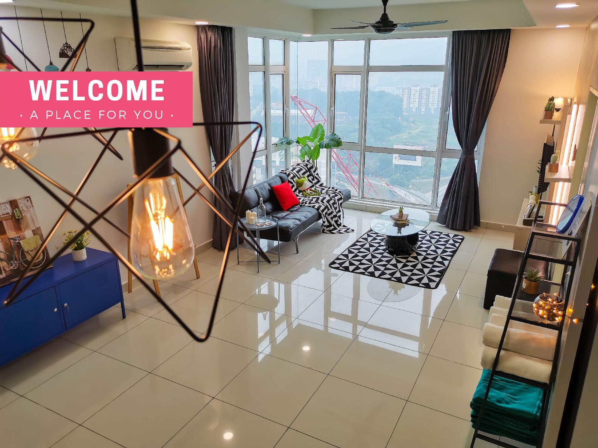 KL Cozy Homestay Nearby Bus Terminal Station  TBS