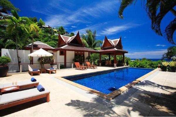 Luxurious 4.5BR  Seaview Villa/Free Breakfast/ Car Phuket