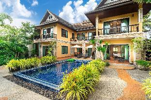 Luxury villa with tropical garden pool & sauna วิลลา 6 ห้องนอน 6 ห้องน้ำส่วนตัว ขนาด 350 ตร.ม. – บางเทา