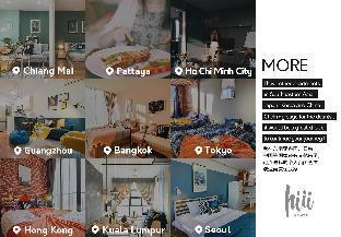 [トンブリー]アパートメント(30m2)| 1ベッドルーム/1バスルーム [hiii]Deer&Coffee Cherry*LuxuryPool & Gym-BKK214