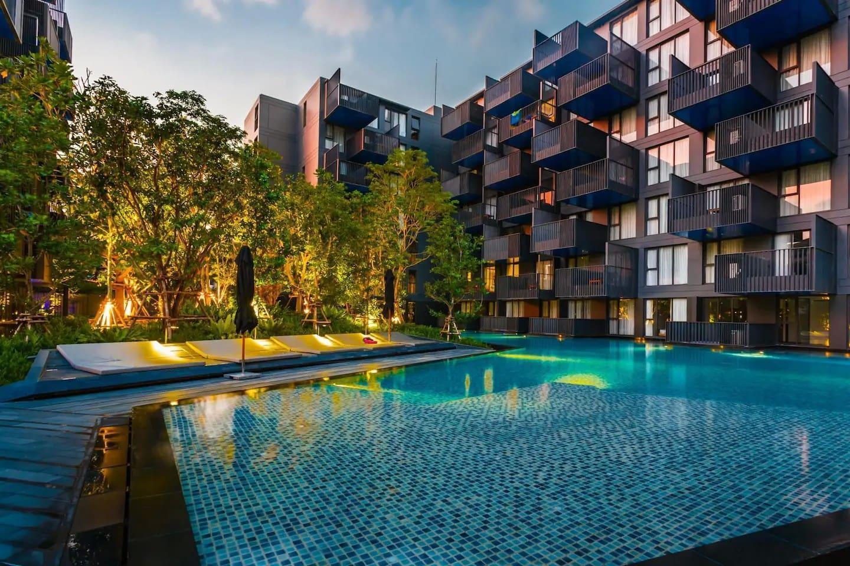 One bedroom & roof top pool at Patong Beach #D71 อพาร์ตเมนต์ 1 ห้องนอน 1 ห้องน้ำส่วนตัว ขนาด 30 ตร.ม. – ป่าตอง